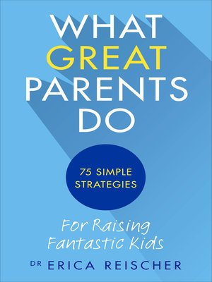 cover image of What Great Parents Do