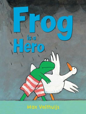 cover image of Frog is a Hero