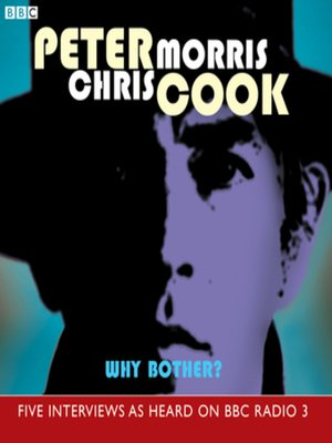 cover image of Why Bother?