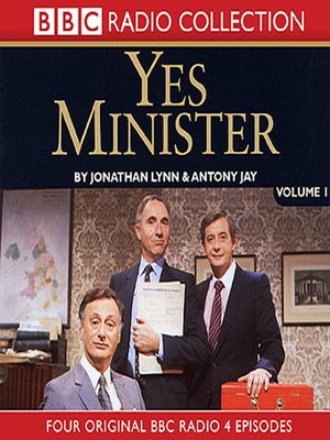 cover image of Yes Minister, Volume 1
