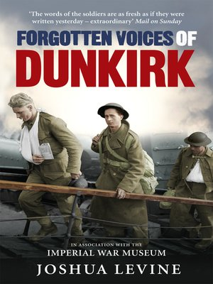 cover image of Forgotten Voices of Dunkirk
