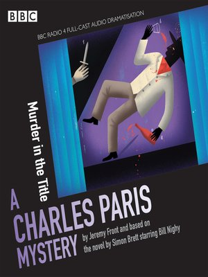 cover image of Charles Paris--Murder in the Title