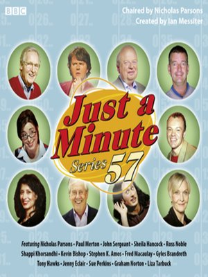 cover image of Just a Minute--Series 57 (Complete)