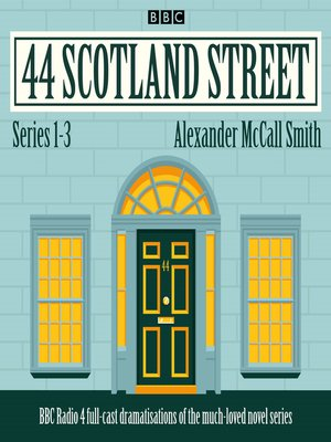 cover image of 44 Scotland Street, Series 1-3
