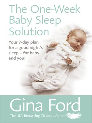 cover image of The One-Week Baby Sleep Solution