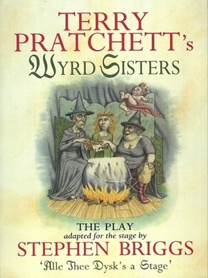 cover image of Wyrd Sisters