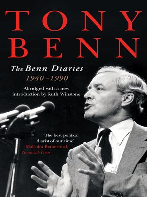 cover image of The Benn Diaries