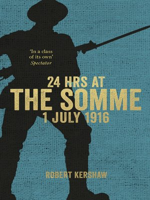cover image of 24 Hours at the Somme