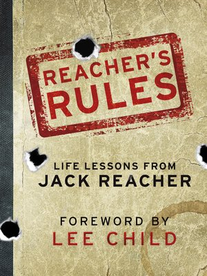 cover image of Reacher's Rules
