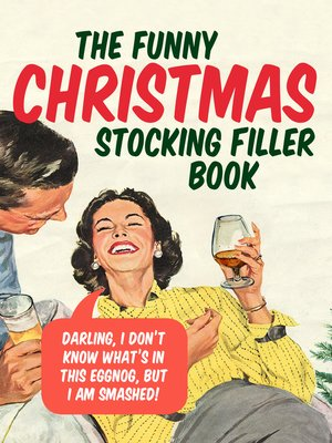 cover image of The Funny Christmas Stocking Filler Book