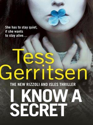 cover image of I Know a Secret