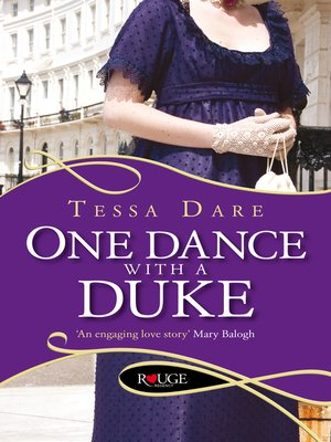cover image of One Dance with a Duke