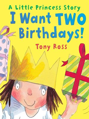 cover image of I Want Two Birthdays!