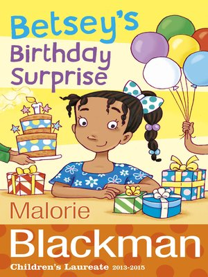 cover image of Betsey's Birthday Surprise