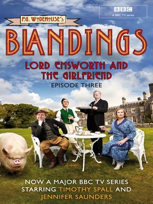 cover image of Lord Emsworth and the Girlfriend