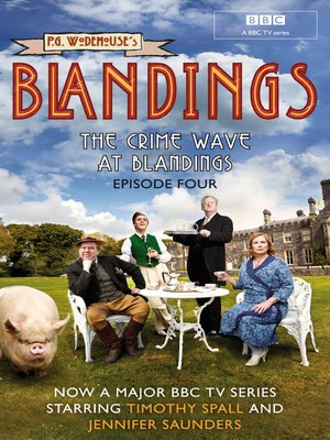 cover image of The Crime Wave at Blandings