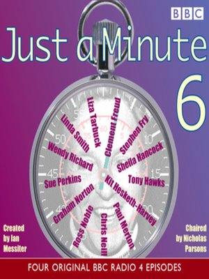 cover image of Just a Minute 6