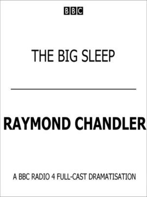 cover image of The Big Sleep