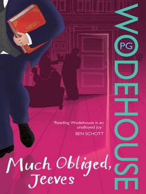 cover image of Much Obliged, Jeeves