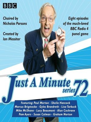 cover image of Just a Minute, Series 72