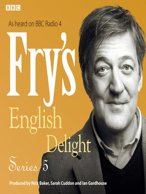cover image of Fry's English Delight, Series 5, Episode 1
