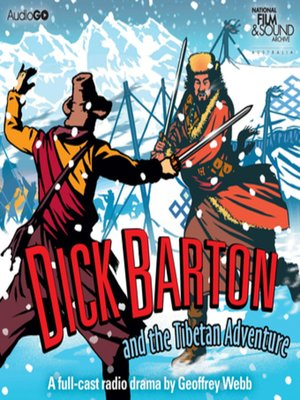 cover image of Dick Barton and the Tibetan Adventure