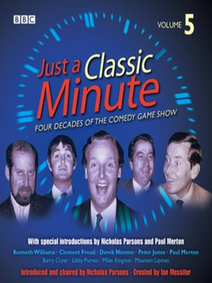 cover image of Just A Classic Minute, Volume 5