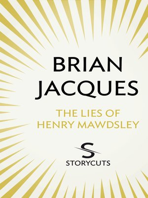 cover image of The Lies of Henry Mawdsley