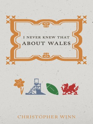 cover image of I Never Knew That About Wales