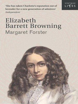 cover image of Elizabeth Barrett Browning