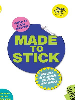 cover image of Made to Stick