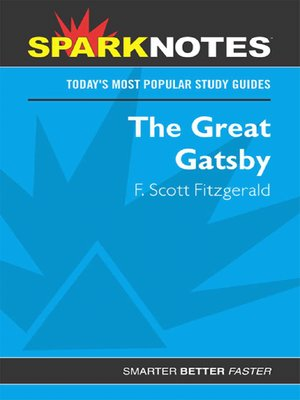 cover image of The Great Gatsby (SparkNotes)