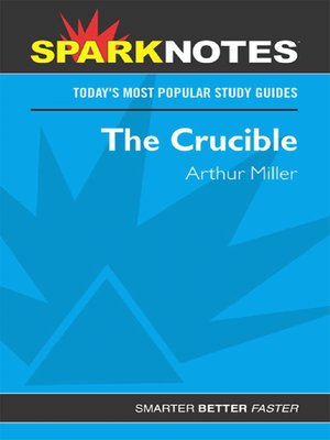 cover image of The Crucible (SparkNotes)