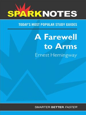 cover image of A Farewell to Arms (SparkNotes)