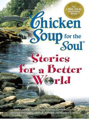 cover image of Chicken Soup Stories for a Better World