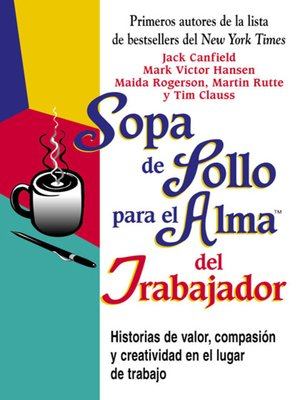 cover image of Sopa de Pollo para el Alma del Trabajador