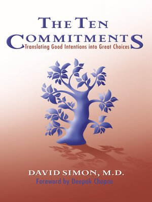 cover image of The Ten Commitments