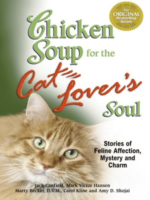 cover image of Chicken Soup for the Cat Lover's Soul