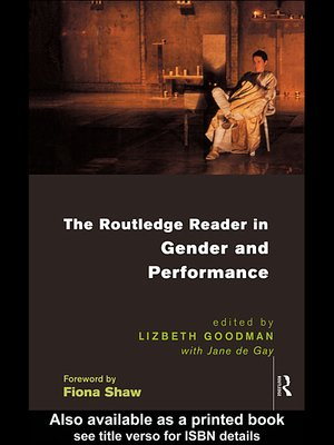 cover image of The Routledge Reader in Gender and Performance