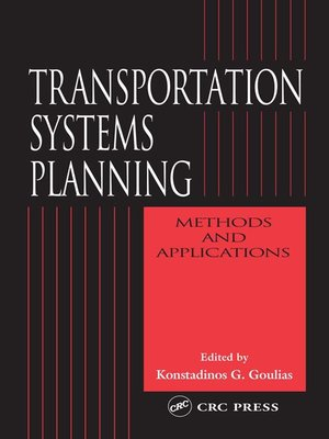 cover image of Transportation Systems Planning