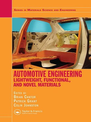 cover image of Automotive Engineering