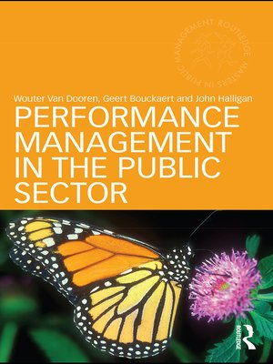 cover image of Performance Management in the Public Sector