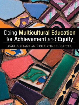 cover image of Doing Multicultural Education for Achievement and Equity