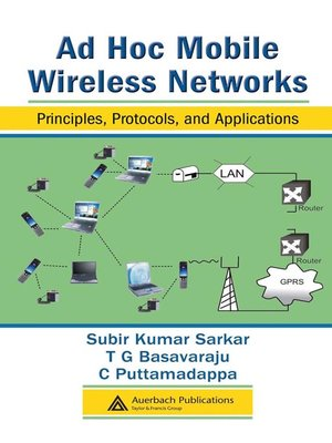 cover image of Ad Hoc Mobile Wireless Networks