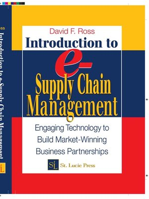 cover image of Introduction to e-Supply Chain Management