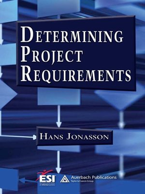cover image of Determining Project Requirements