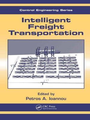 cover image of Intelligent Freight Transportation