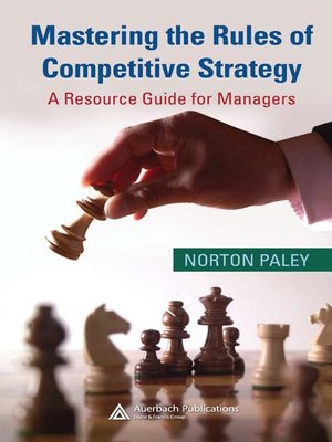 cover image of Mastering the Rules of Competitive Strategy
