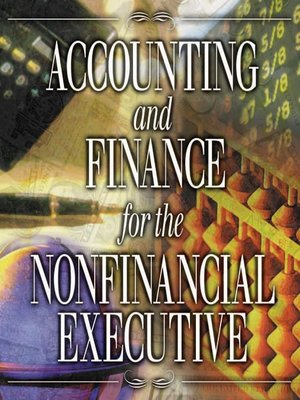 cover image of Accounting and Finance for the NonFinancial Executive