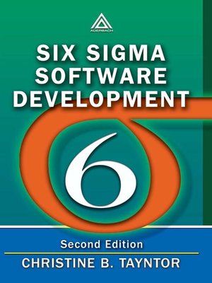 cover image of Six Sigma Software Development